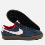Мужские кроссовки Nike SB Blazer Low GT Obsidian/University Red/White фото- 2