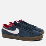 Мужские кроссовки Nike SB Blazer Low GT Obsidian/University Red/White фото- 1