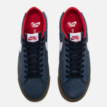 Мужские кроссовки Nike SB Blazer Low GT Obsidian/University Red/White фото- 4