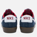 Мужские кроссовки Nike SB Blazer Low GT Obsidian/University Red/White фото- 3