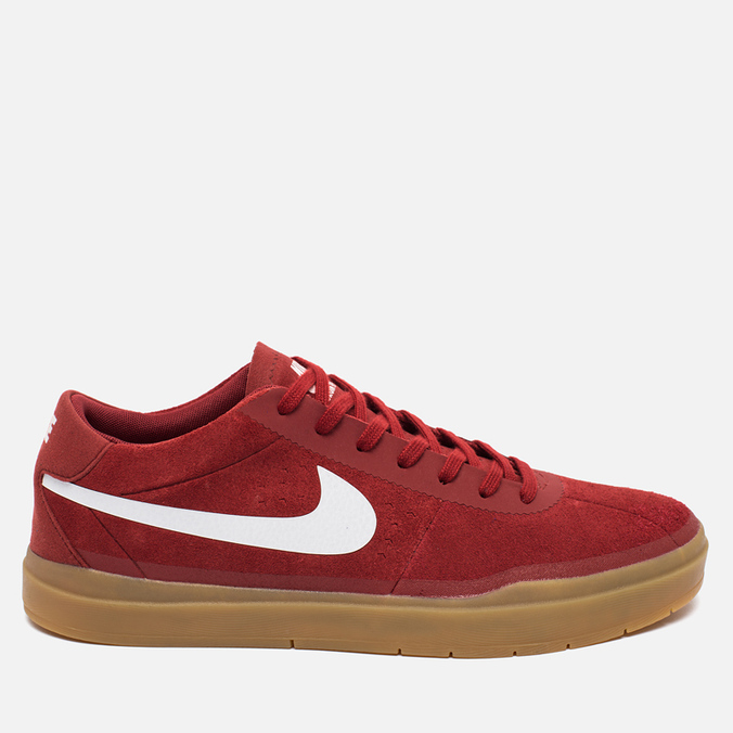 Мужские кроссовки Nike SB Bruin Hyperfeel Red/White
