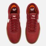 Мужские кроссовки Nike SB Bruin Hyperfeel Red/White фото- 4