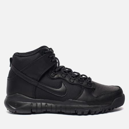 Мужские кроссовки Nike SB Dunk High Boot Black/Black