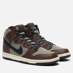 Мужские кроссовки Nike SB Dunk High Pro Baroque Brown/Black/Jade Horizon