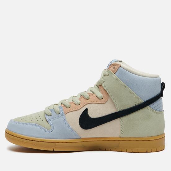 Мужские кроссовки Nike SB Dunk High Pro Easter Spectrum Particle Grey/Black/Terra Blush
