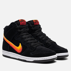 Мужские кроссовки Nike SB Dunk High Pro Truck It Pack Black/University Gold/Team Orange