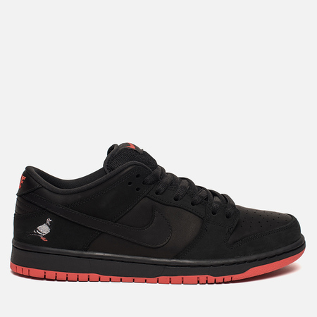 Мужские кроссовки Nike SB Dunk Low Black Pigeon Black/Black/Sienna