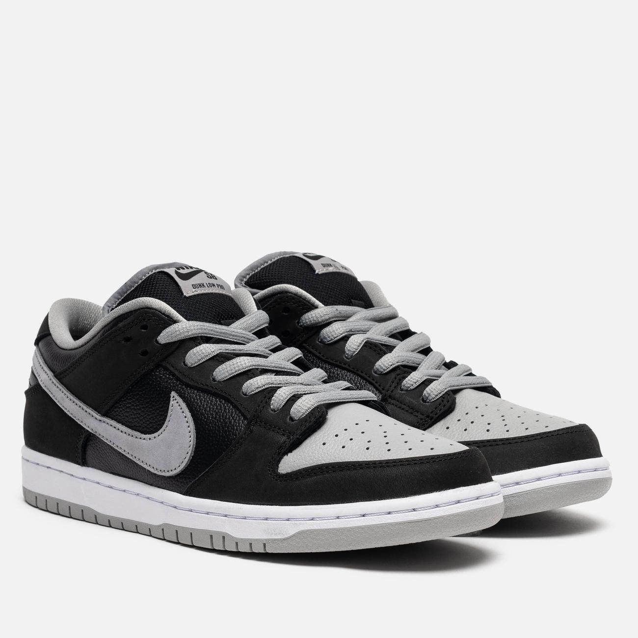 Мужские кроссовки Nike SB Dunk Low Pro Black/Medium Grey/Black/White