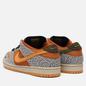 Мужские кроссовки Nike SB Dunk Low Pro ISO Safari Neutral Grey/Kumquat/Desert Ochre фото - 2