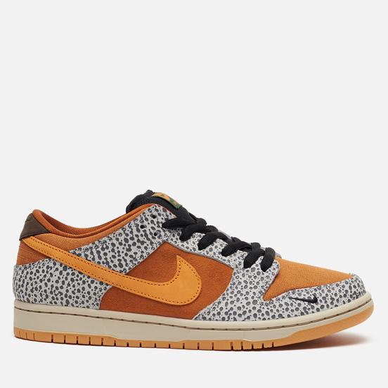Мужские кроссовки Nike SB Dunk Low Pro ISO Safari Neutral Grey/Kumquat/Desert Ochre