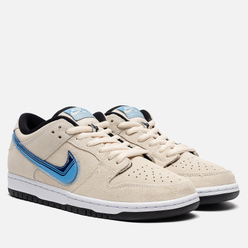 Мужские кроссовки Nike SB Dunk Low Pro Truck It Pack Light Cream/Deep Royal Blue