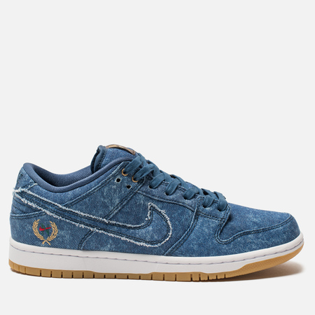 Мужские кроссовки Nike SB Dunk Low TRD QS East West Pack Utility Blue/Utility Blue/White
