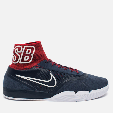 Мужские кроссовки Nike SB Eric Koston 3 Hyperfeel Obsidian University/Red/White