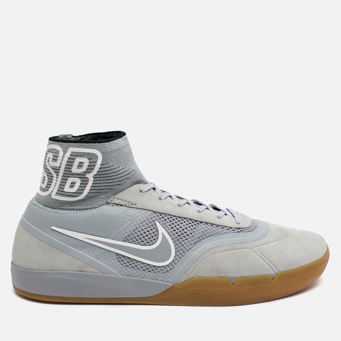 Мужские кроссовки Nike SB Eric Koston 3 Hyperfeel Wolf Grey/White