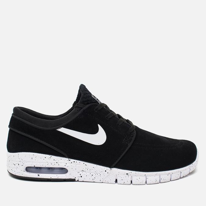 Мужские кроссовки Nike SB Stefan Janoski Max Black/White
