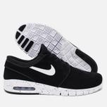 Мужские кроссовки Nike SB Stefan Janoski Max Black/White фото- 2