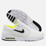 Мужские кроссовки Nike SB Stefan Janoski Max White/Black Volt фото- 2
