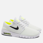Мужские кроссовки Nike SB Stefan Janoski Max White/Black Volt фото- 1