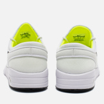 Мужские кроссовки Nike SB Stefan Janoski Max White/Black Volt фото- 3