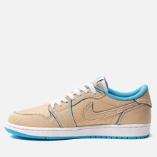 Мужские кроссовки Nike SB x Jordan Air Jordan 1 Low QS Desert Ore/Royal Blue/Dark Powder Blue фото- 5