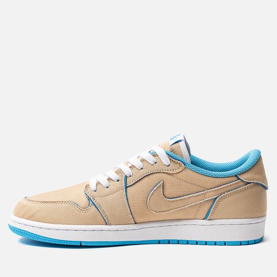 Мужские кроссовки Nike SB x Jordan Air Jordan 1 Low QS Desert Ore/Royal Blue/Dark Powder Blue