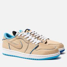 Мужские кроссовки Nike SB x Jordan Air Jordan 1 Low QS Desert Ore/Royal Blue/Dark Powder Blue фото- 0