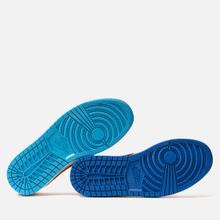 Мужские кроссовки Nike SB x Jordan Air Jordan 1 Low QS Desert Ore/Royal Blue/Dark Powder Blue фото- 4