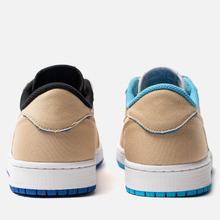Мужские кроссовки Nike SB x Jordan Air Jordan 1 Low QS Desert Ore/Royal Blue/Dark Powder Blue фото- 2