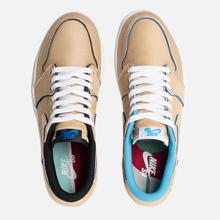 Мужские кроссовки Nike SB x Jordan Air Jordan 1 Low QS Desert Ore/Royal Blue/Dark Powder Blue фото- 1