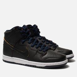Мужские кроссовки Nike SB x NBA Dunk High Pro Black/Black/College Navy/Team Red