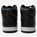 Мужские кроссовки Nike SB x NBA Dunk High Pro Black/Black/College Navy/Team Red фото- 3