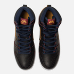 Мужские кроссовки Nike SB x NBA Dunk High Pro Black/Black/College Navy/Team Red фото- 5