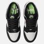 Мужские кроссовки Nike SB x Staple Panda Pigeon Dunk Low Pro OG QS Black/White/Green Gusto фото - 1