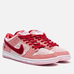 Мужские кроссовки Nike SB x StrangeLove Skateboards Dunk Low Pro QS Bright Melon/Gym Red/Medium Soft Pink
