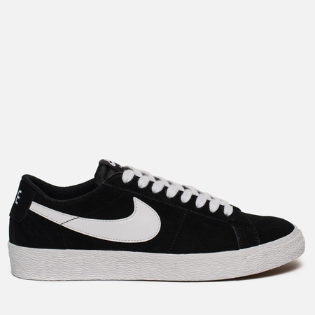 Мужские кроссовки Nike SB Zoom Blazer Low Black/White/Gum Light Brown