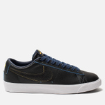 Мужские кроссовки Nike SB Zoom Blazer Low GT NBA Black/Black/Amarillo/Coast фото- 0
