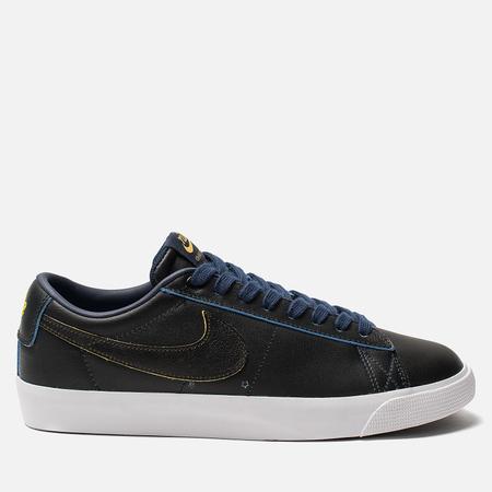 Мужские кроссовки Nike SB Zoom Blazer Low GT NBA Black/Black/Amarillo/Coast
