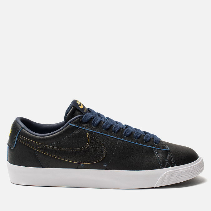 Мужские кроссовки Nike SB Zoom Blazer Low GT NBA Black/Black/Amarillo/Coast