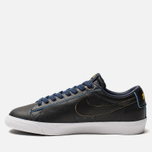Мужские кроссовки Nike SB Zoom Blazer Low GT NBA Black/Black/Amarillo/Coast фото- 2