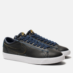 Мужские кроссовки Nike SB Zoom Blazer Low GT NBA Black/Black/Amarillo/Coast фото- 1