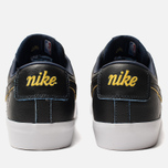 Мужские кроссовки Nike SB Zoom Blazer Low GT NBA Black/Black/Amarillo/Coast фото- 3