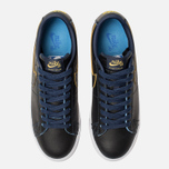 Мужские кроссовки Nike SB Zoom Blazer Low GT NBA Black/Black/Amarillo/Coast фото- 5