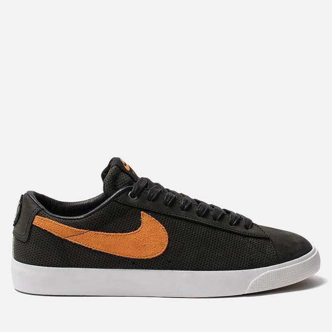 Мужские кроссовки Nike SB Zoom Blazer Low GT QS Cats Paw Saloon Black/Vivid Orange/White