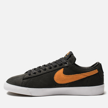 Мужские кроссовки Nike SB Zoom Blazer Low GT QS Cats Paw Saloon Black/Vivid Orange/White фото- 5