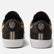 Мужские кроссовки Nike SB Zoom Blazer Low GT QS Cats Paw Saloon Black/Vivid Orange/White фото- 2