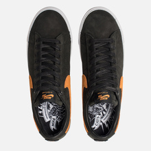 Мужские кроссовки Nike SB Zoom Blazer Low GT QS Cats Paw Saloon Black/Vivid Orange/White фото- 1
