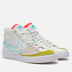 Мужские кроссовки Nike SB Zoom Blazer Mid Edge Summit White/Oracle Aqua/Summit White