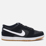 Мужские кроссовки Nike SB Zoom Dunk Low Pro Black/White/Light Brown фото- 0