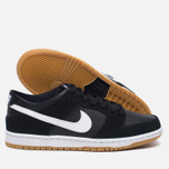 Мужские кроссовки Nike SB Zoom Dunk Low Pro Black/White/Light Brown фото- 2
