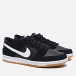 Мужские кроссовки Nike SB Zoom Dunk Low Pro Black/White/Light Brown фото- 1
